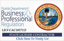 Air Duct Cleaning Miami State of Florida Air Conditioning Contractor badge link