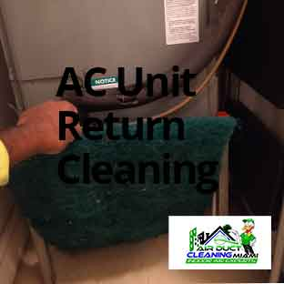 ac unit duct cleaning